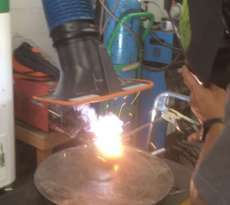 WELDING FUME EXTRACTOR & DUST COLLECTOR